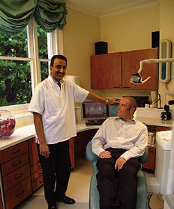 Tidu Mankoo in his treatment room