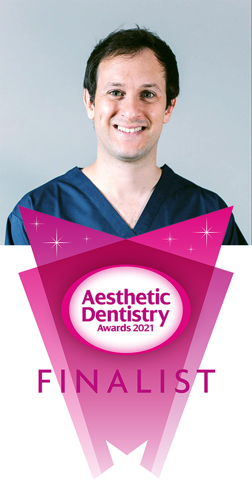 Telmo Iceta - Aesthetic Dentistry Awards 2021 - Finalist